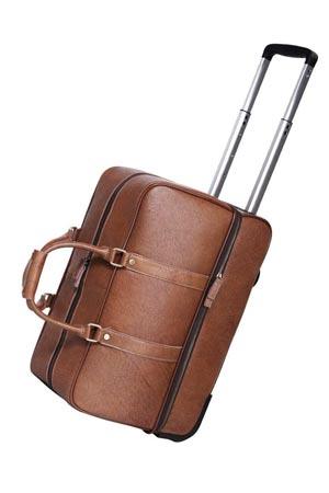 Elegante bolso vintage de piel? fabricante bell Vendido en