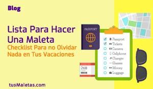 "Lista para Hacer una Maleta"" class="